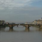 Bridge in Florence by Frank Donnoli