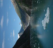 Glacier Land 1 by Lynn  Cropp