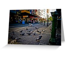 The Urban Environment Greeting Card