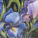 Irises in the wild by Vickyh