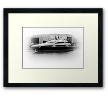 Big Boys Toys. A  Fathers Day Card.  Framed Print
