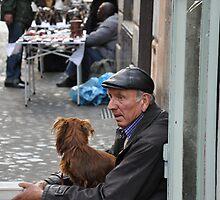 ROME - A beggar by Daniela Cifarelli