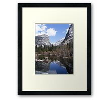 Mirror Lake ~ Yosemite National Park Framed Print