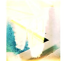 Swimming Pool Ladder Photographic Print