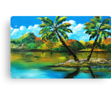 The Other 180' 0f 360' Canvas Print