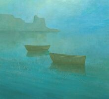 Blue Mist I by Stephen Mitchell