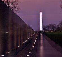 The Vietnam Memorial by Matsumoto