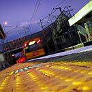 Dutton Park Train by Lachlan Kent