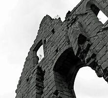 Jervaulx Abbey  by Robert St-John Smith