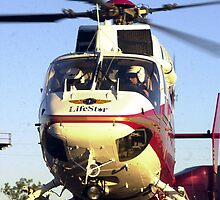 Lifestar helicopter by Larry  Grayam
