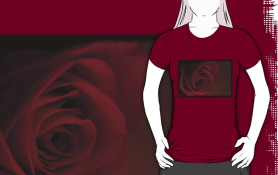 Dark Rose T-Shirt by Stephen Thomas