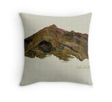 Driftwood Throw Pillow