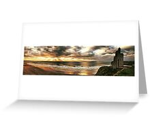 The Men's Strand - Ballybunion Greeting Card
