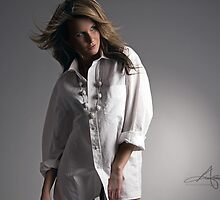 White Shirt by Andreas Stridsberg