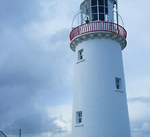 White Lighthouse in west Clare by Jtucker