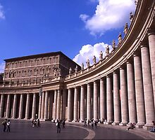 St Peter's Square, Vatican by Mishimoto