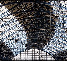 Brighton Station Interior by Jazzdenski