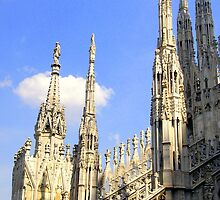 One of the Best Italian Gothic master-piece : Duomo di Milano  by sstarlightss