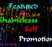 Banner Shameless Self Promotion by MaeBelle