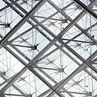 Louvre Glass Pyramid by DavePlatt