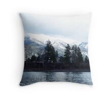 Springtime in Montana Throw Pillow