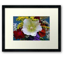 Flower Bouquet Framed Print