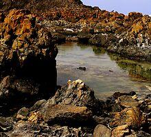 photoj Tas, Edge Of The World,  'Rock Texture' by photoj