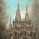 Salt Lake LDS Temple by Ryan Houston