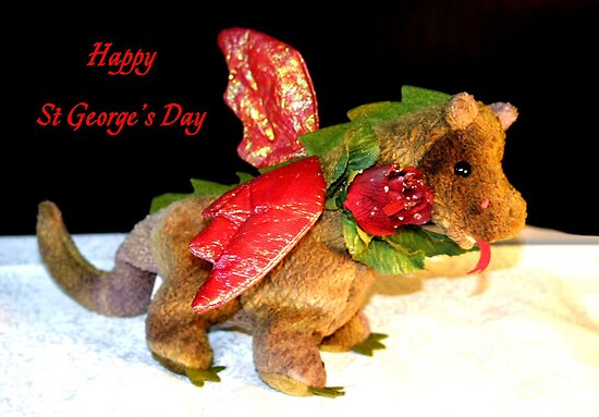 St George's Day Dragon by missmoneypenny