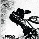 Kiss The Wheel by RuthBaker