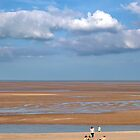 Low tide, Wells-next-the-Sea, Norfolk. by Geoff Spivey