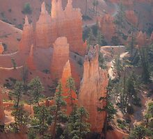 Natural castles in West-America (Bryce Canyon) by loiteke