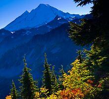 Mount Baker from Artist Point in Autumn by RavenFalls