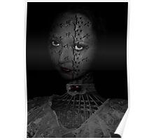 Wicker & Lace With An Interesting Face Poster
