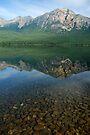 Patricia Lake - Jasper by Barbara Burkhardt