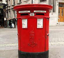 Pillar Box. London by farmbrough