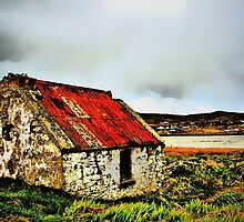 Rusty Ruin, Achill by Polly x