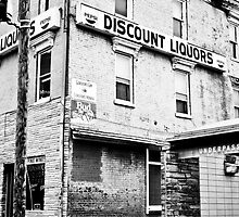 Cut-rate Discount Liquors by Christopher Morrow