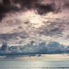 Storm Clouds Across the Sea by ehphotography
