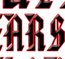 Guts,Gears and Glory moto-x rider t-shirt Sticker