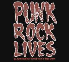PUNK ROCK LIVES by dustyvinylstore