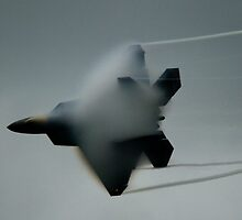 F-22 Vapor by Dave Parrish