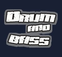 Drum and bass t-shirt by DVDclothing.com by dustyvinylstore