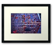 those who have fallen Framed Print