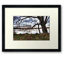 Lonesome Tree Framed Print