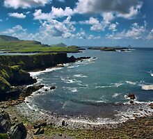 South west kerry scenic of Ireland landcape by upthebanner