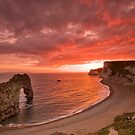 185 Million Year Old Sunset - The Jurassic Coast World Heritage Site Series  by LeeMartinImages