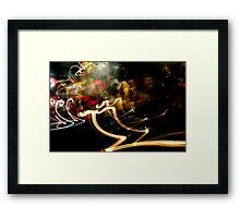 Crazy City 8 Framed Print