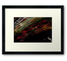 Crazy City 9 Framed Print