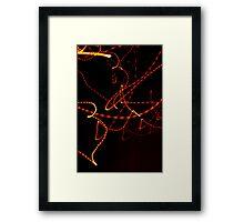 Crazy City 42 Framed Print
